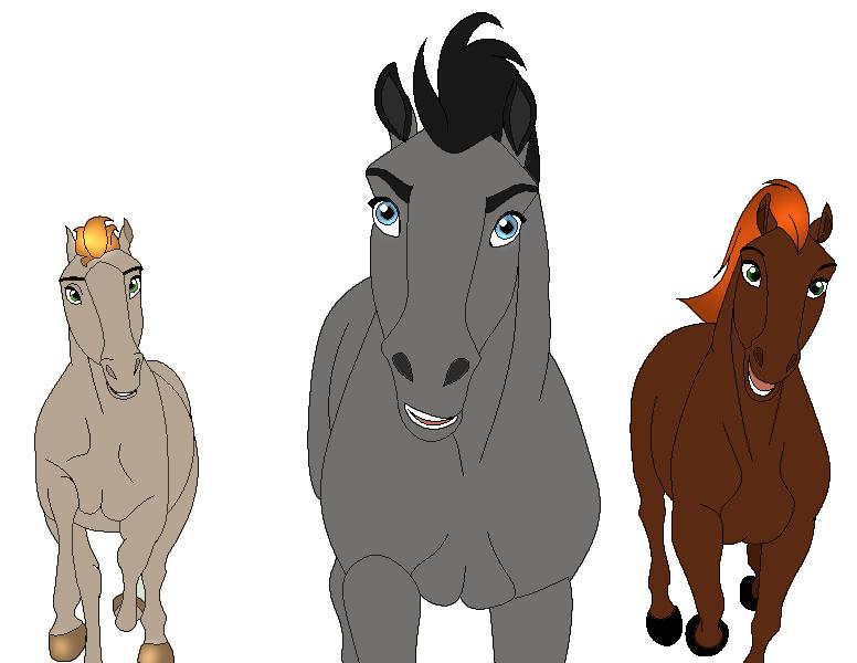 The Oldest Trio of Jewel's Children by JeweledFaith