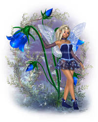 The Bluebell Fae by ImaginedMoments