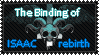 The binding of Isaac : Rebirth Stamp by OoBloodyRavenoO