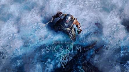 TES V Skyrim Wallpaper by Slydog0905
