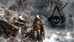 Assassin's Creed 4 Black Flag Wallpaper by Slydog0905