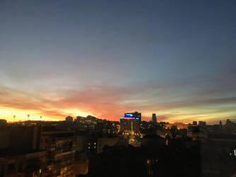 Nighttime Kiev by Luyda