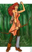 Archer by scarecrow