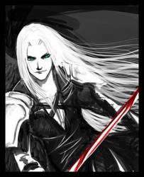 sephiroth by scarecrow