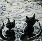 Cats by ellehcartist