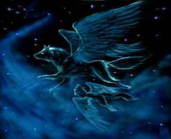 GhostWolf II by eterna2