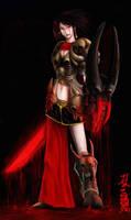 Necro Knight by eterna2