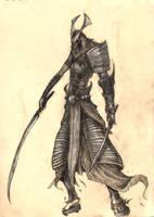 Samurai Concept I by eterna2