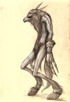 Werewolf Concept I by eterna2