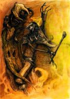 Wraith Hunter Villemus Color by eterna2