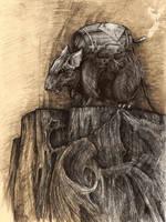 Savage Legion -Goblin Bomb Rat by eterna2