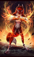 Ruler of Elements. by Vyrosk