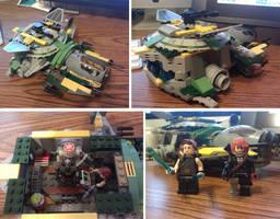 LEGO Star Wars: Nighthawk (Custom) by Josh-Ulrich