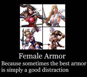 Female Armor by maxshinbowl
