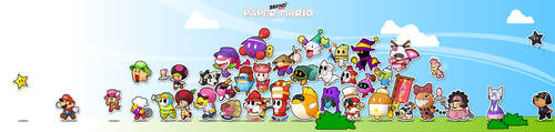 Brand New Paper Mario by Eniotna