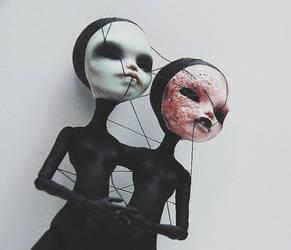 alien twins (FAKE MONSTER HIGH OOAK) by ero-nel