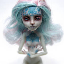 Monster High Rochelle OOAK by ero-nel