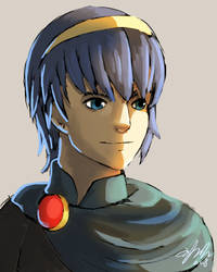 Marth by Toramelle