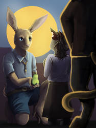 Rabbit Man by Toramelle