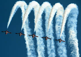 Snowbirds Flyby 2 by shelbs2