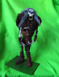 Undead Barbarian Puppet by Mara999