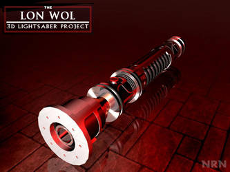 Lon Wol Lightsaber - 3D2 by valaryc