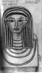Mummy Sketch by ivoryisis