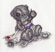 Tatty Teddy by digikijo