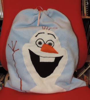 Olaf christmas bag by digikijo