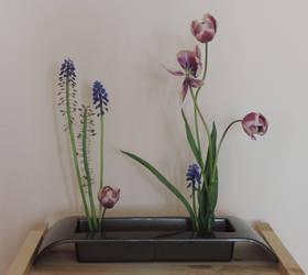 Ikebana - Duality - Life and Death by digikijo