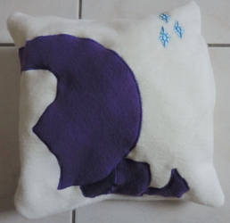 Rarity Pillow by digikijo