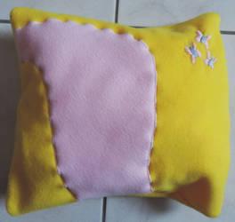 Fluttershy Pillow by digikijo