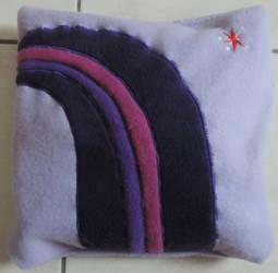Twilight Sparkle Pillow by digikijo