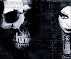 skull and darkness (-mistabys) by mistabys