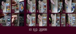 15 Dollar Earrings by Goshawk
