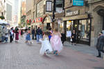 Running With the Bridesmaids, Mad Dash and Hair by Miss-Tbones
