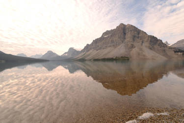 Low Reflections and Shallow Lake Water 9 by Miss-Tbones