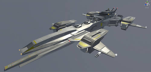 [3D] Mothership Flying Carrier by vermount94
