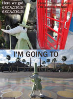 Excalibur Goes to California by waynekaa