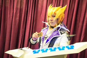 Jack Atlas from Yu-Gi-Oh! 5Ds Cosplay by waynekaa