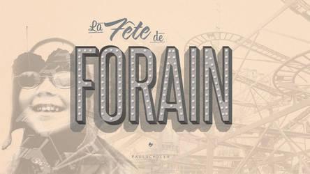 La Fete de Forain by Schulerr