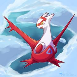 #380 - The Eon Pokemon - Latias by Inkblot123