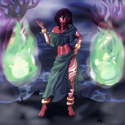 The Eternal Witch: Amari by Inkblot123