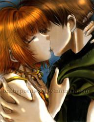 SakuraSyaoran Love Me Again CG by barbypornea