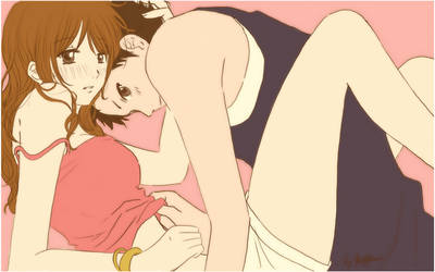 SasaNatsu - hold me by barbypornea
