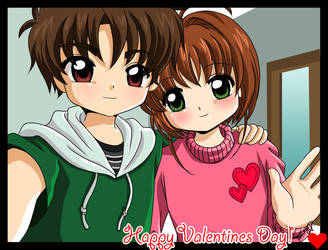 Happy Valentine's Day by barbypornea
