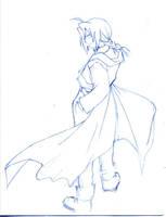Edward Elric by barbypornea