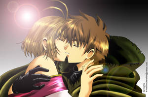 TRC: SyaoranSakura Kiss 2 by barbypornea