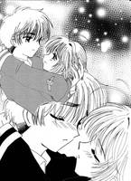 CCS Doujinshi:First Kiss Page1 by barbypornea