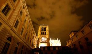 Lyon by night by KajiyaEol